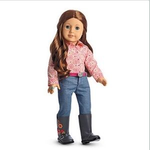 AUTHENTIC American Girl Saige's Parade Outfit